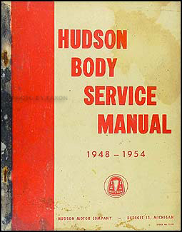 1948-1954 Hudson Body Manual Original