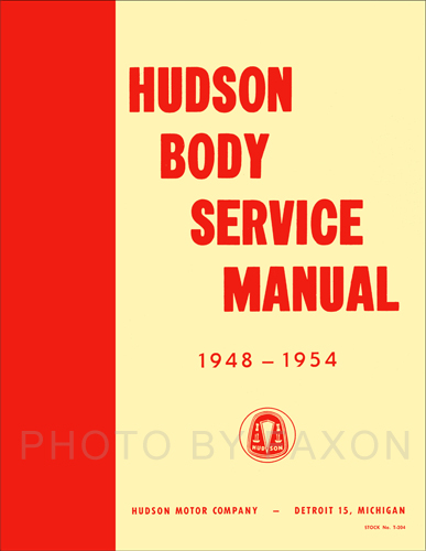 1948-1954 Hudson Body Manual Reprint