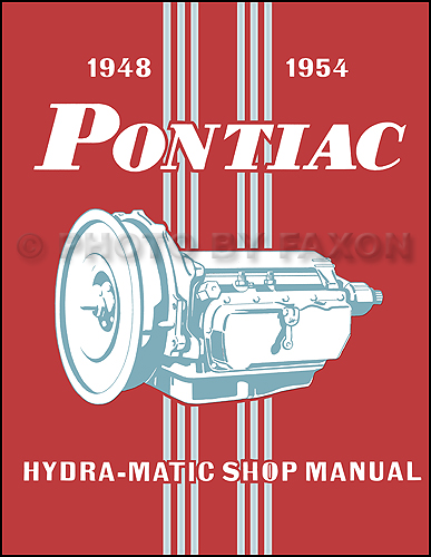 1948-1953 Pontiac Hydra-Matic Transmission Repair Manual Original