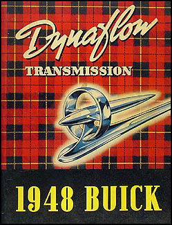 1948 Buick Roadmaster Dynaflow Transmission Manual Original