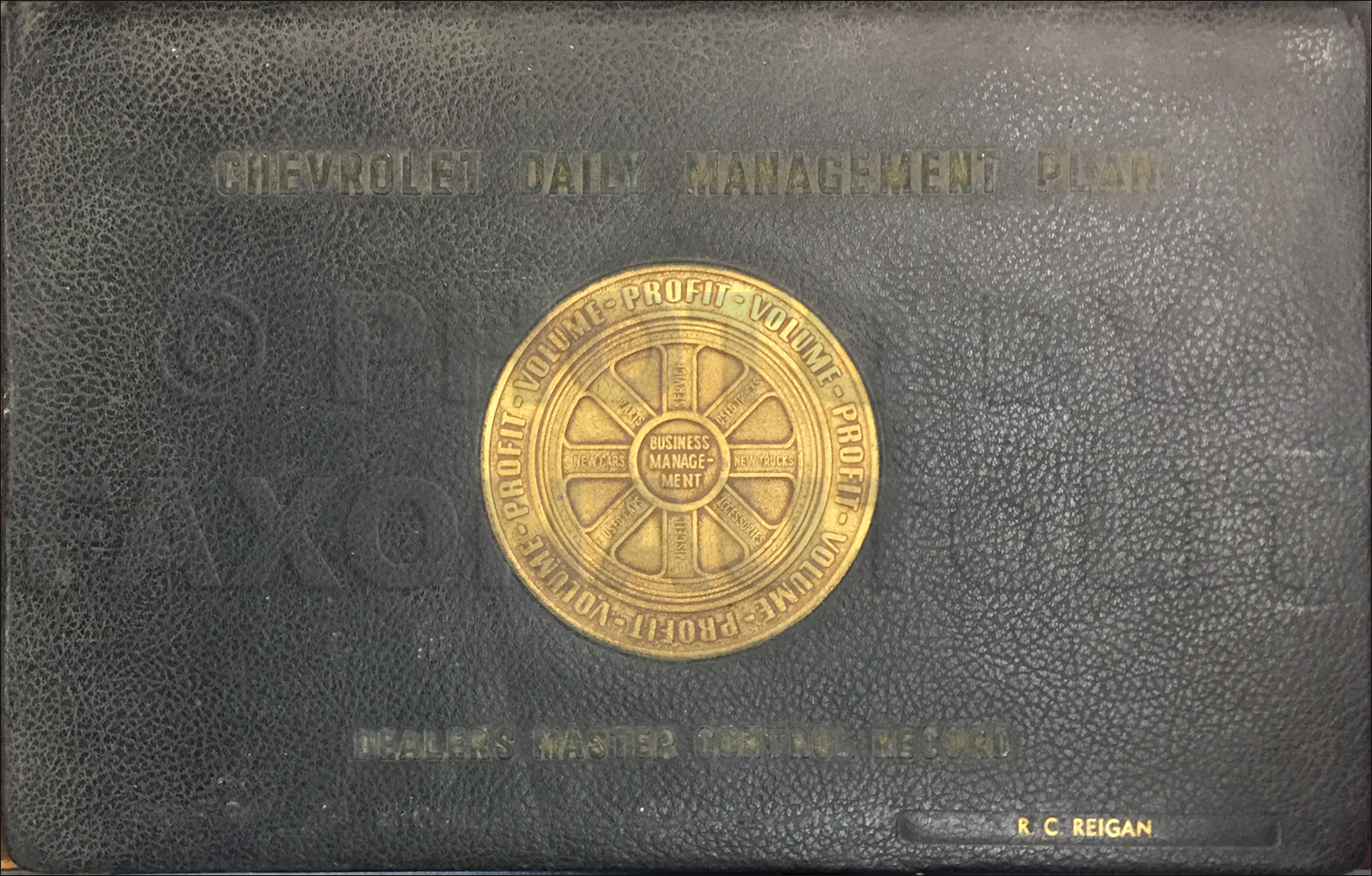 1948 Chevrolet Service Manager Record Book Original