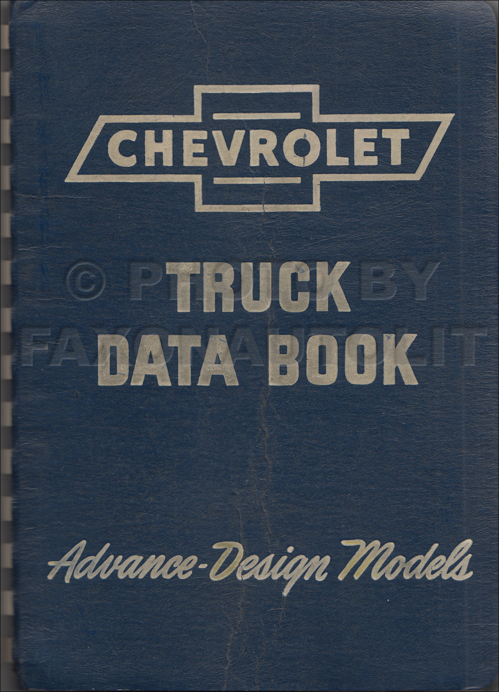 1947 Chevrolet Truck Data Book Original