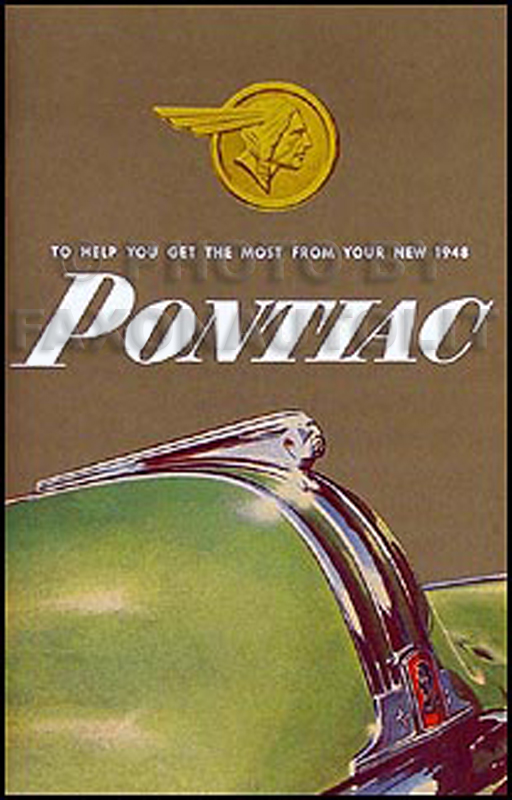 1948 Pontiac Owner's Manual Reprint