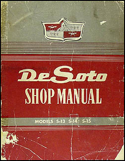 1949-1952 DeSoto De Soto Shop Manual Original
