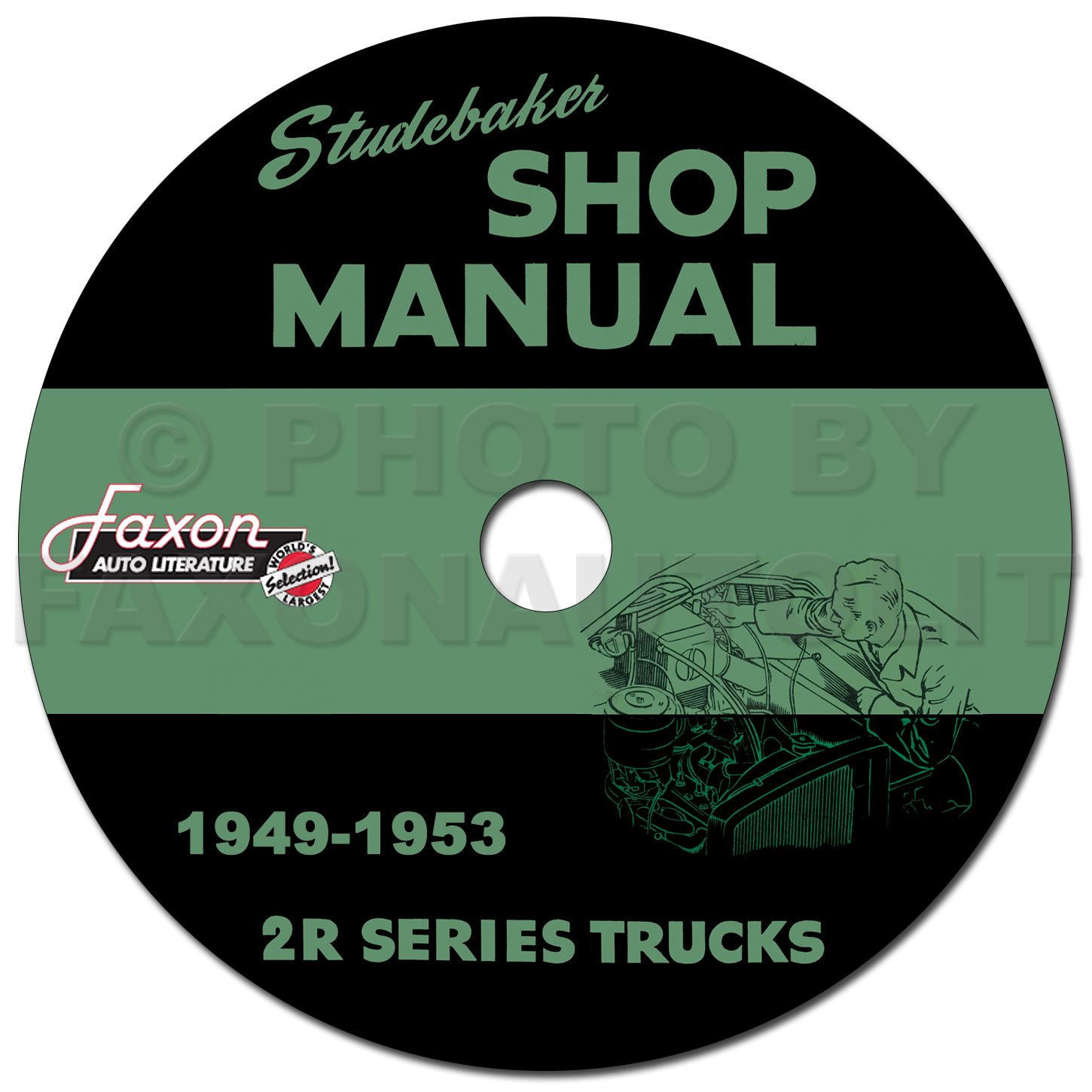 1949-1953 Studebaker 2R Series Pickup Truck Shop Manual Reprint