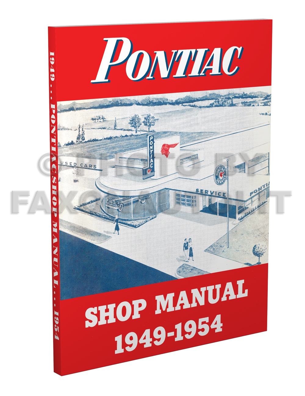 1949-1954 Pontiac Shop Manual Reprint -- All Models