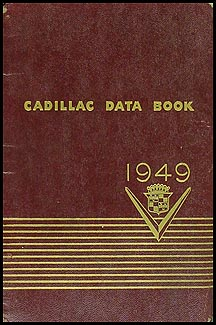 1949 Cadillac Data Book Original