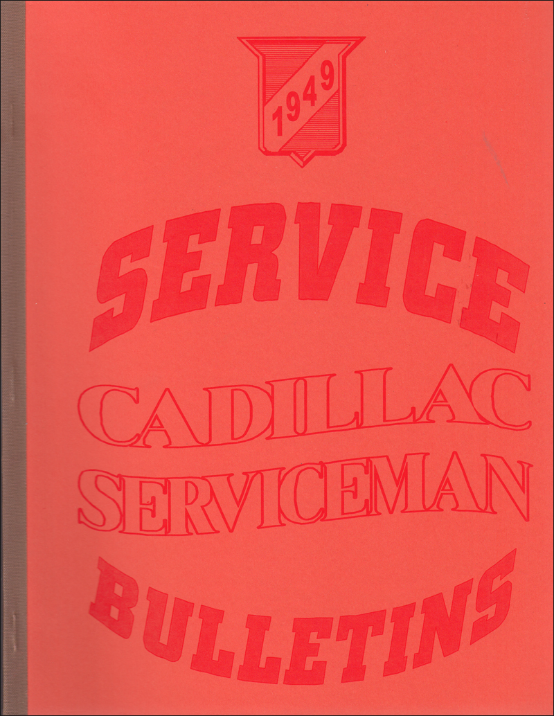 1949 1960 Cadillac Engine Diagnosis Manual Reprint 1955 Vacuum Diagram Service Bulletins