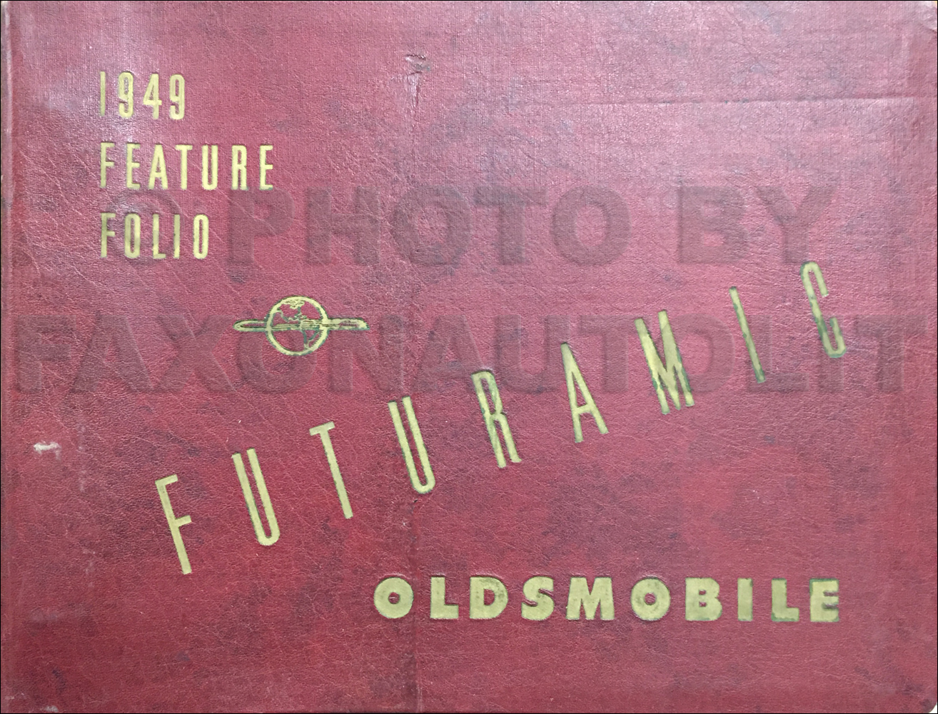 1949 Oldsmobile Feature Folio Dealer Album Original