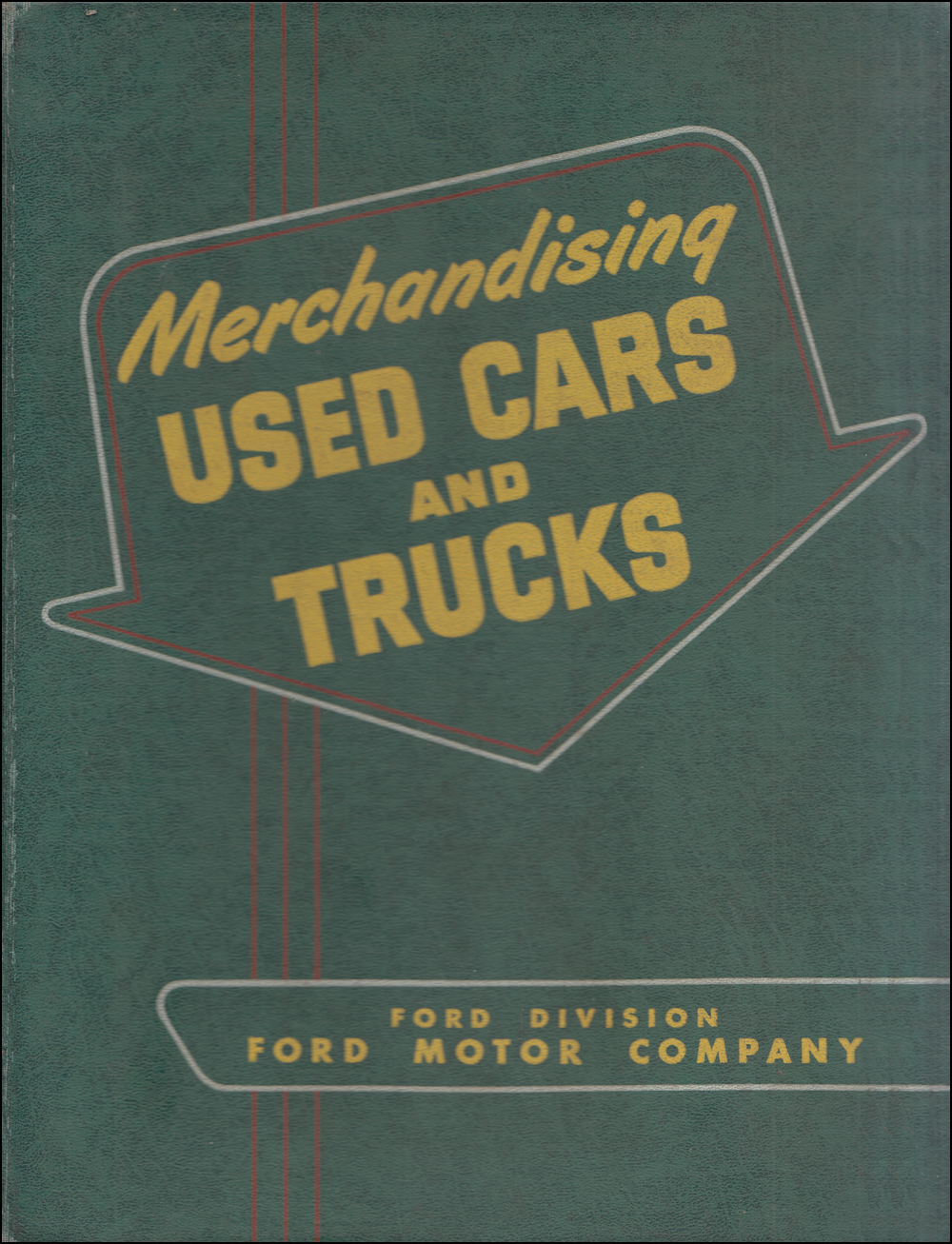 1950-1951 Ford Used Car Merchandising Dealer Album Original