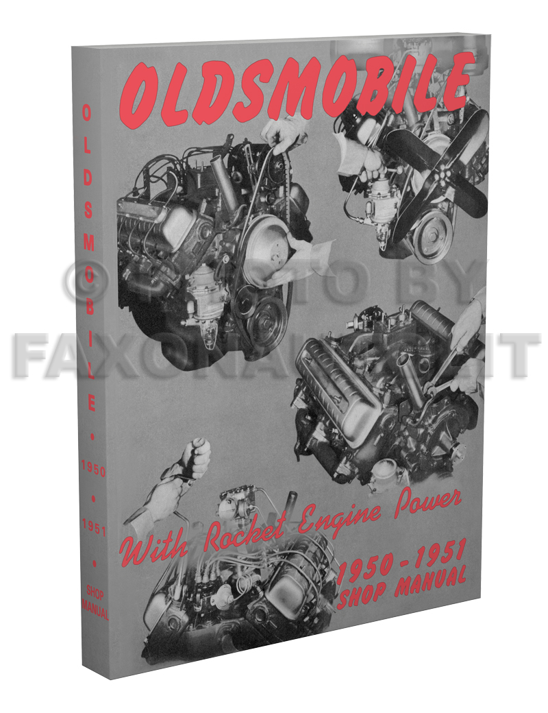 1950-1951 Oldsmobile Shop Manual Reprint