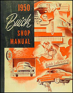 1950 Buick Shop Manual Original