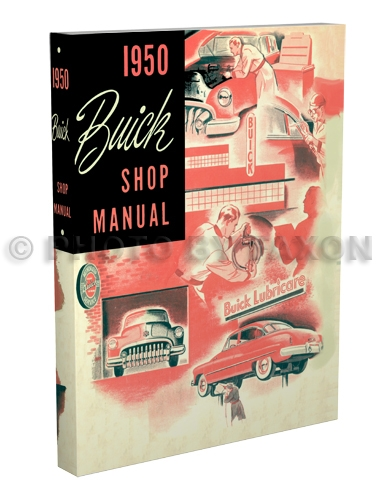1950 Buick Shop Manual Reprint