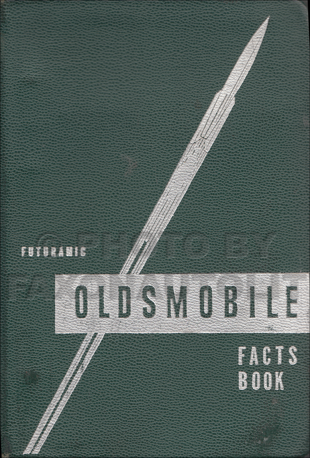 1950 Oldsmobile Facts Book Original