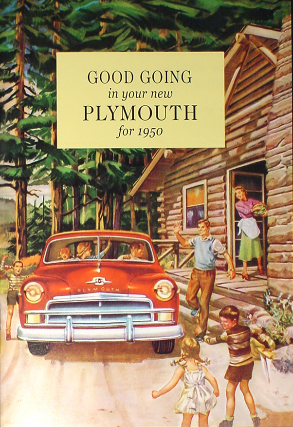 1946-1947-1948 Plymouth Owners Manual Owner Guide Book P15 Deluxe and Special