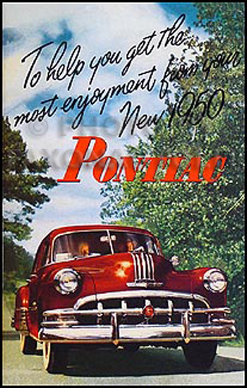 1950 Pontiac Reprint Owner's Manual
