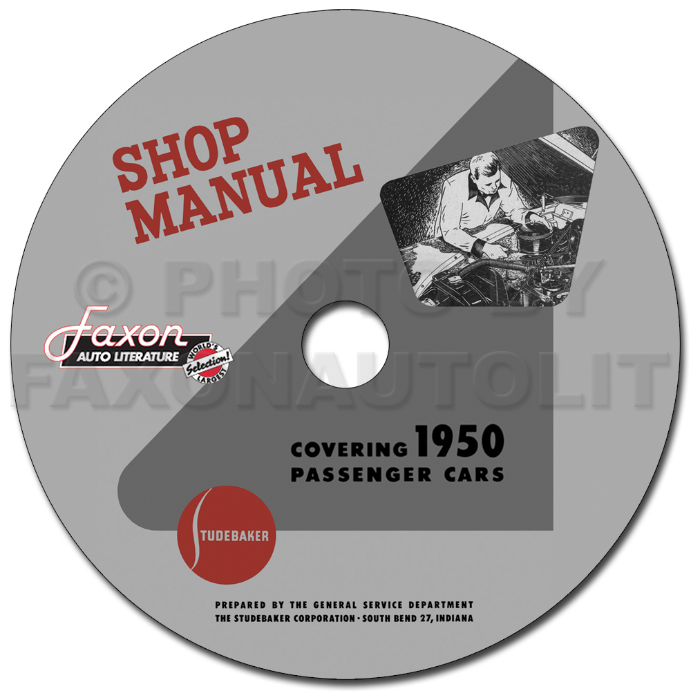 1950 Studebaker Car Shop Manual Reprint