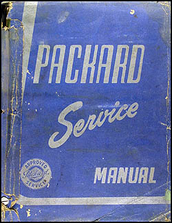 1951-1954 Packard Service Manual Original