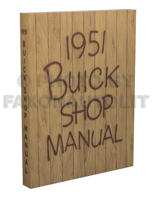 1951 Buick Shop Manual Reprint
