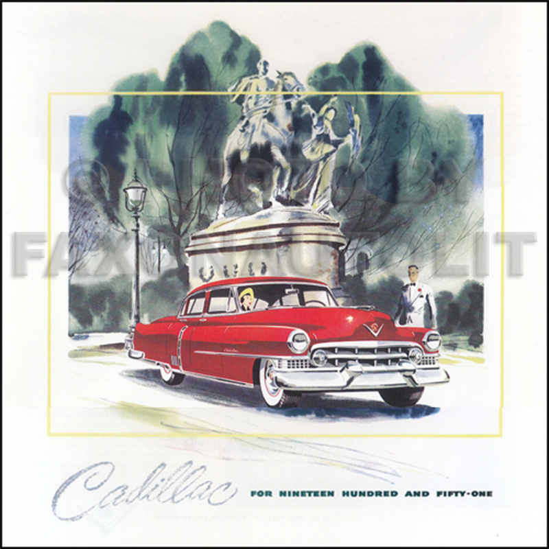 1964 Cadillac Original Sales Literature