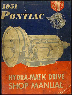 1951 Pontiac Hydra-Matic Transmission Repair Manual Original