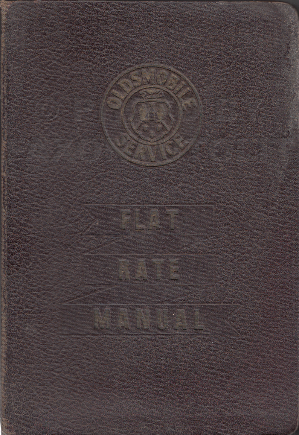 1937 Pontiac Shop Manual Original-- All Models
