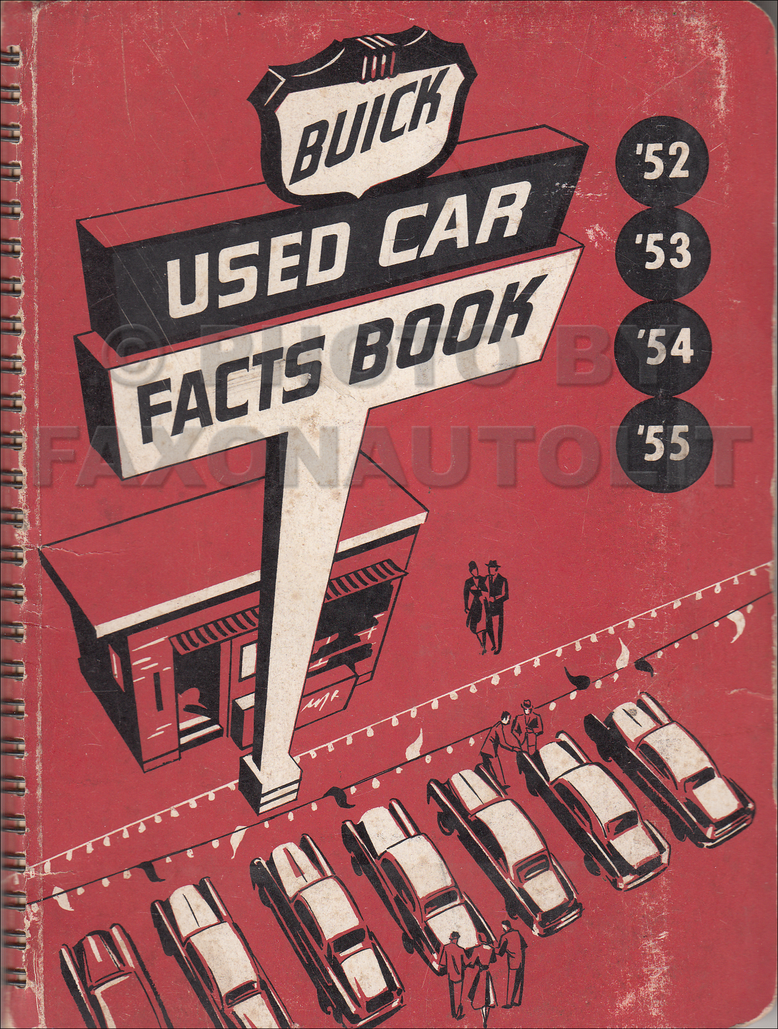 1952-1955 Buick Used Car Facts Book Original