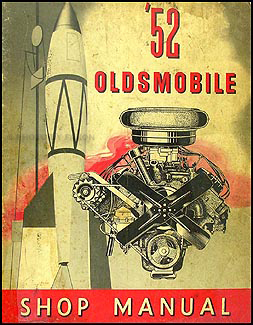 1952 Oldsmobile Repair Manual Original