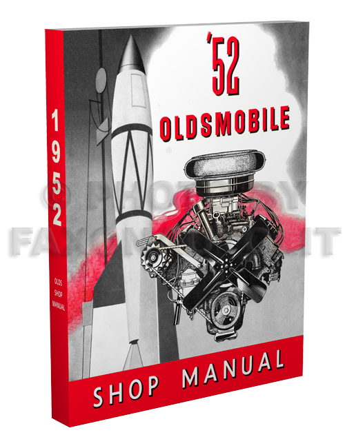 1952 Oldsmobile Shop Manual Reprint