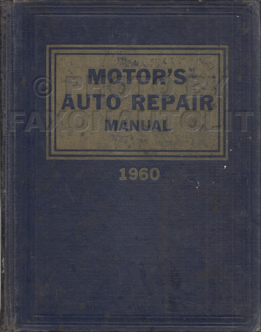 1953-1960 Motors 23rd Edition Car Repair Shop Manual