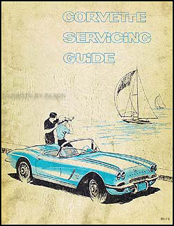 1953-1962 Corvette Original Servicing Guide/Repair Shop Manual Supplement Original