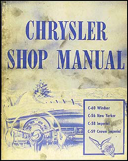 1953 Chrysler Shop Manual Original