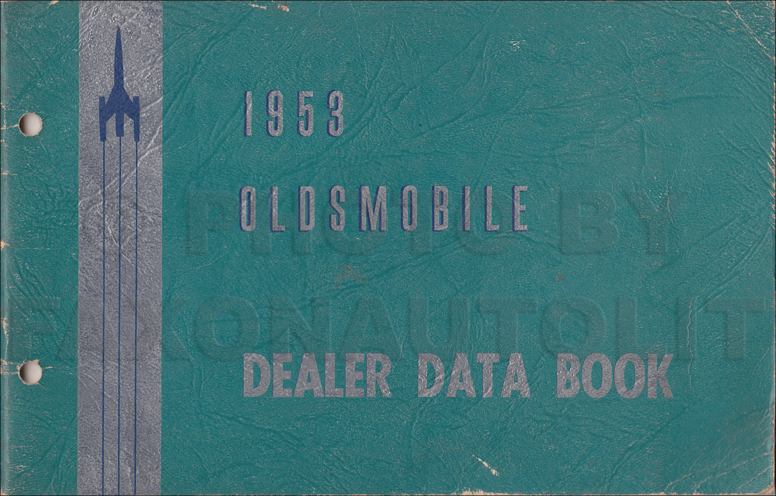 1953 Oldsmobile Dealer Data Book Original