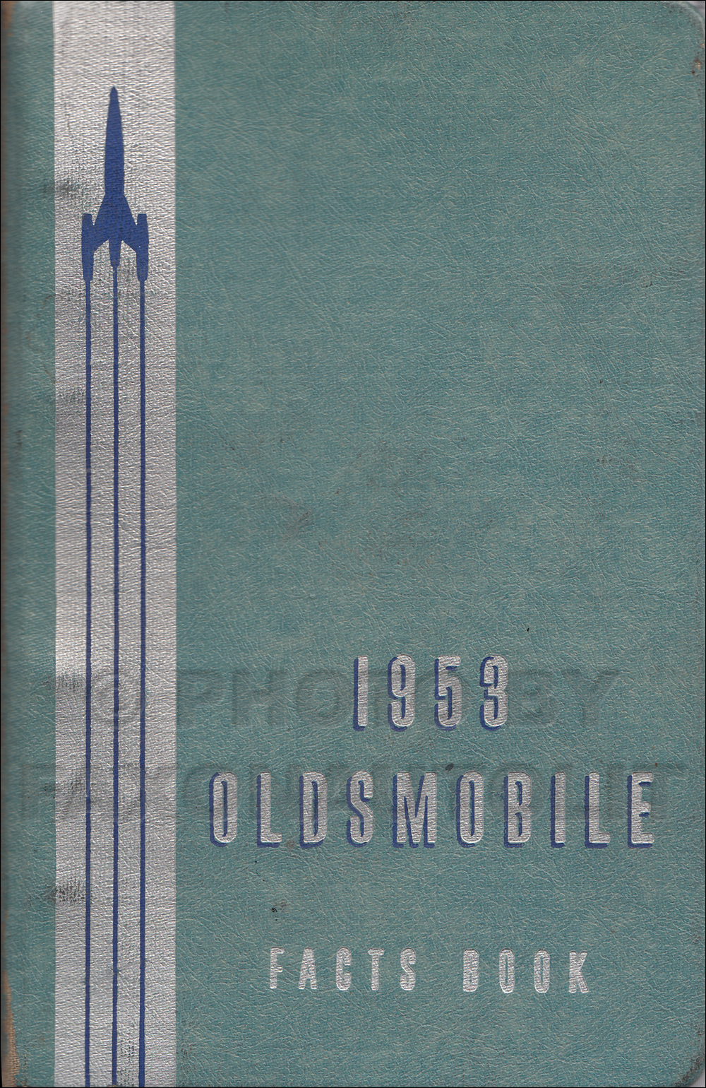 1953 Oldsmobile Facts Book Original