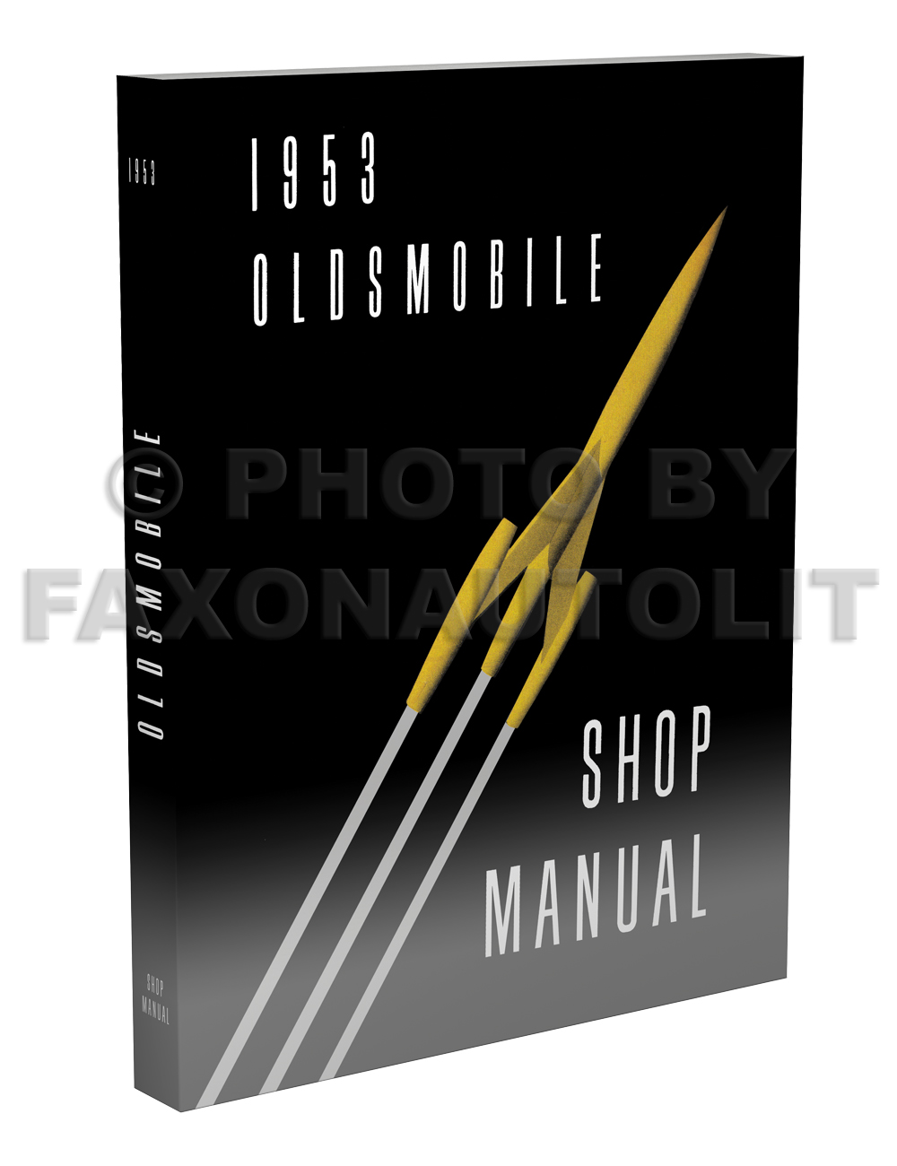1953 Oldsmobile Shop Manual Reprint