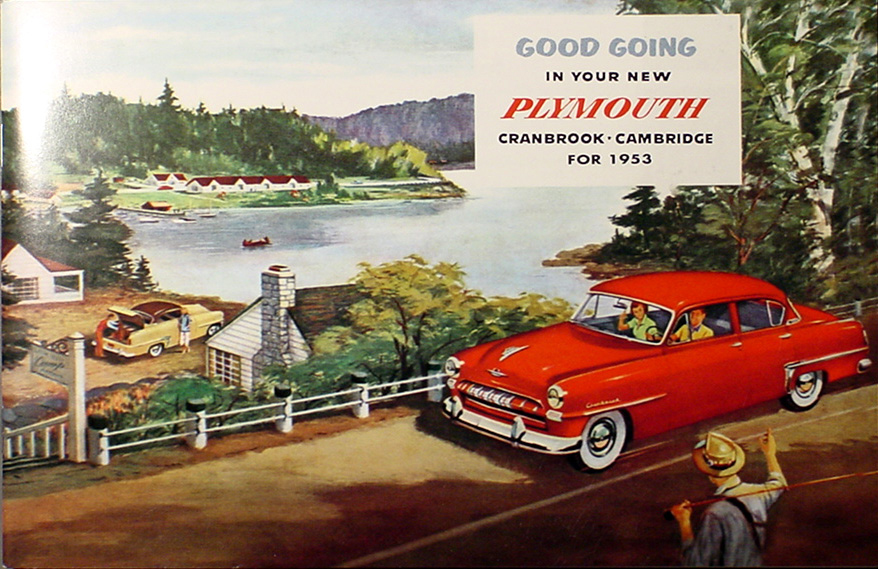 1953 Plymouth Reprint Owner's Manual