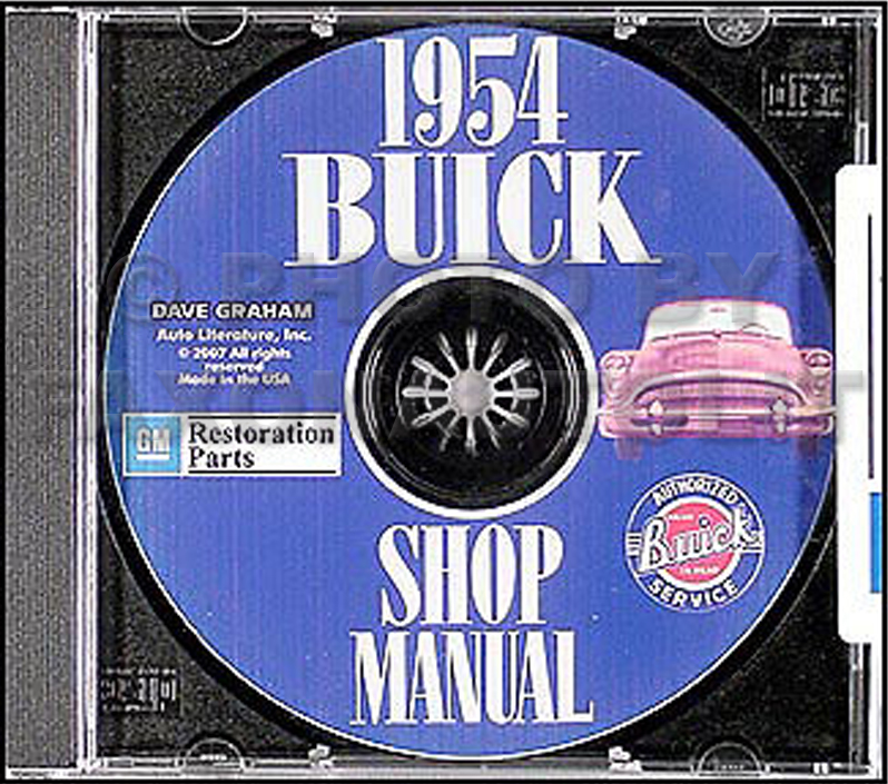 1954 Buick CD-ROM Shop Manual