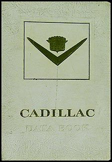 1954 Cadillac Data Book Original