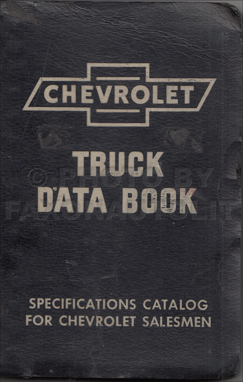 1954-1955 First Series Chevrolet Truck Data Book Original