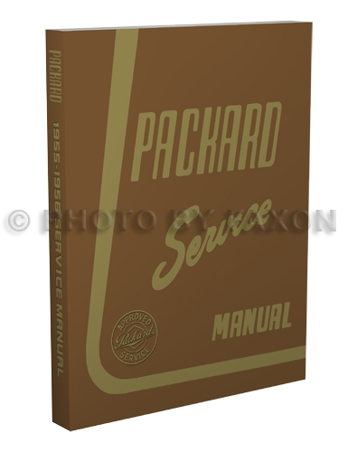 1955-1956 Packard Repair Shop Manual Reprint