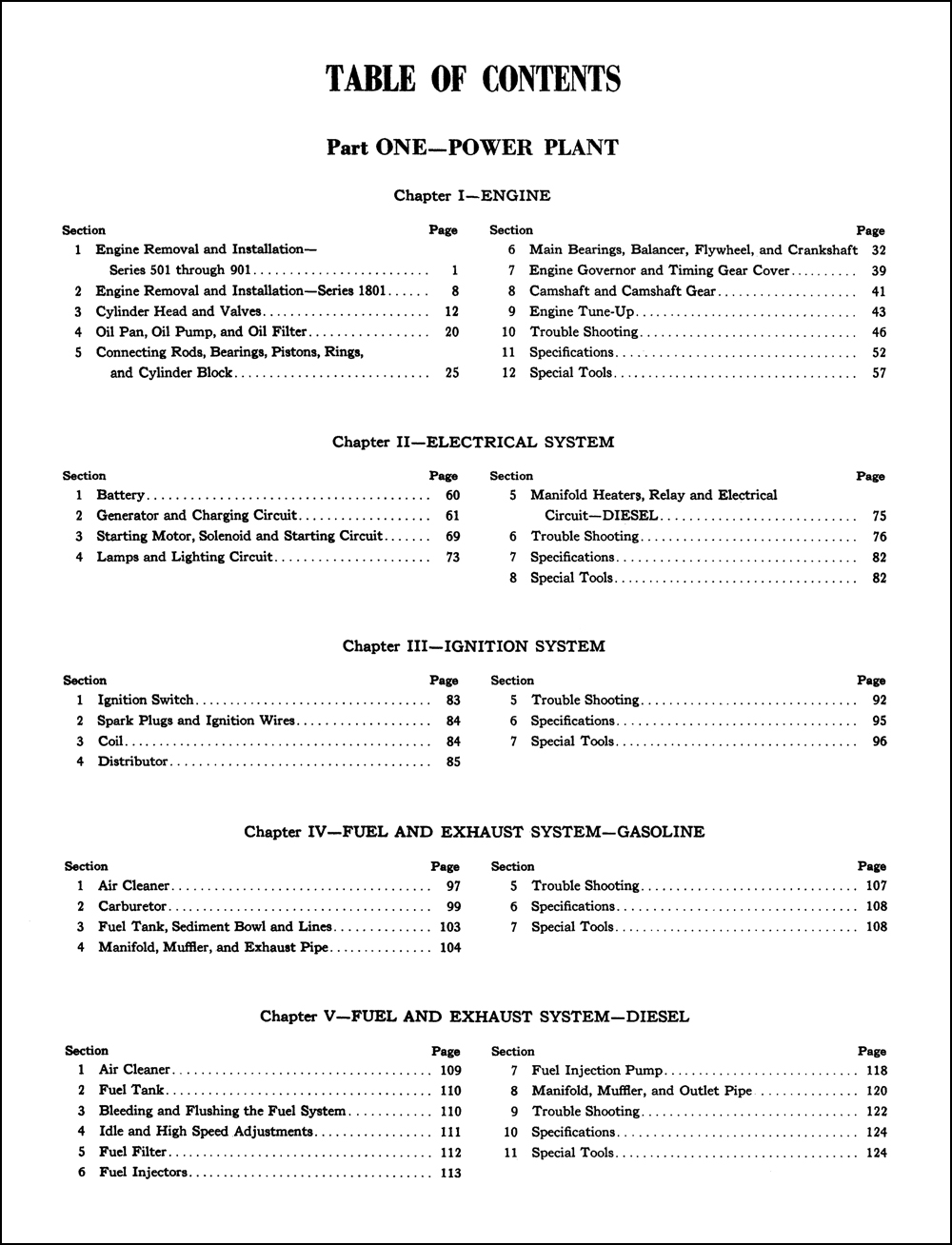 Ford 600 Series Tractor Manual Vendo 63 Wiring Diagram Array 1955 1960 Thru 901 Repair Shop Reprint Rh Faxonautoliterature