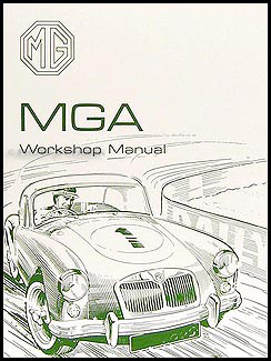 1955-1962 MGA Repair Manual Reprint