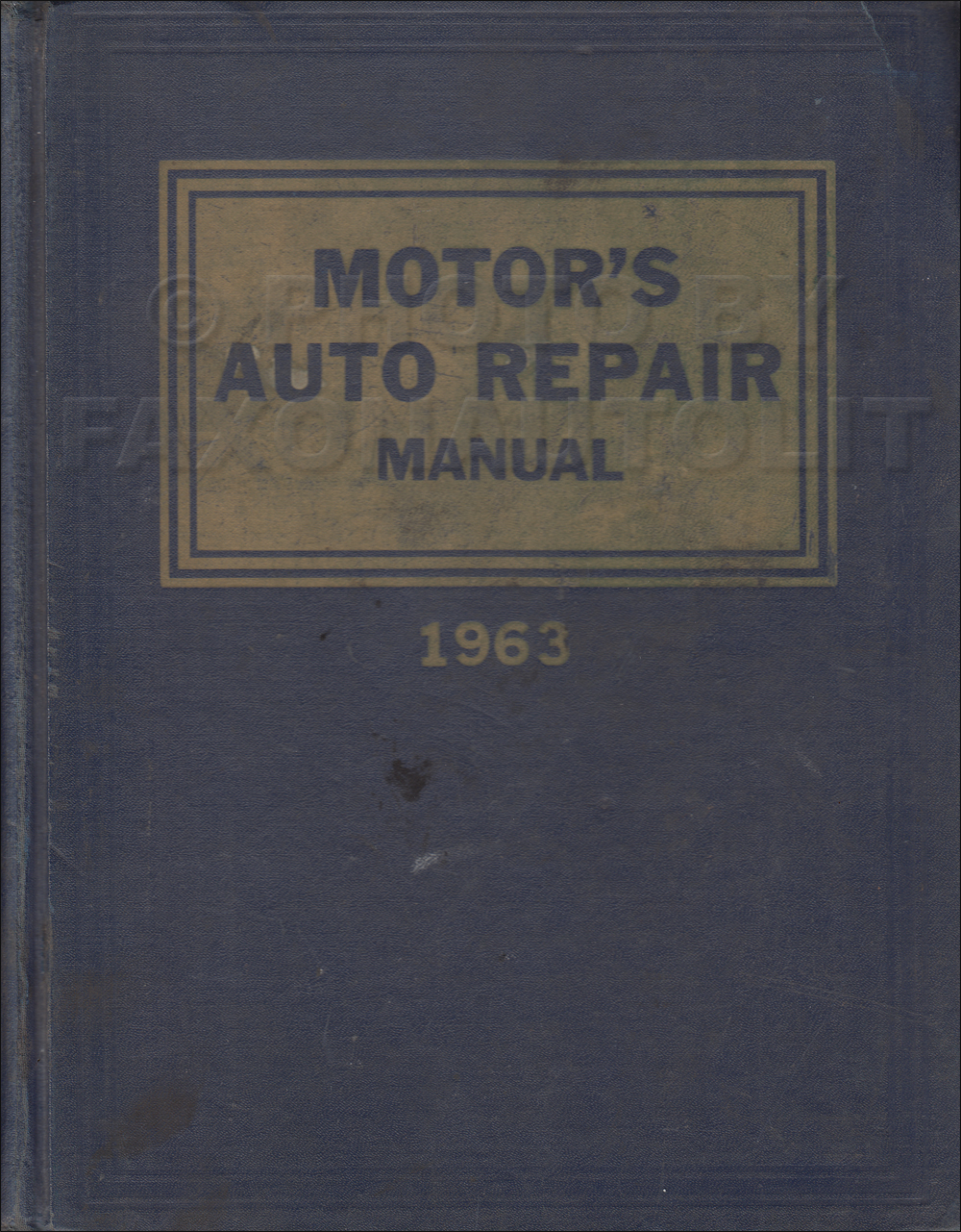 1955-1963 Motors 26th Edition Car Repair Shop Manual