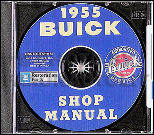 1955 Buick CD-ROM Shop Manual