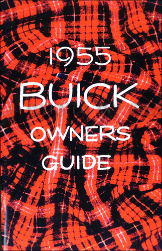 1955 Buick Owner's Manual Reprint