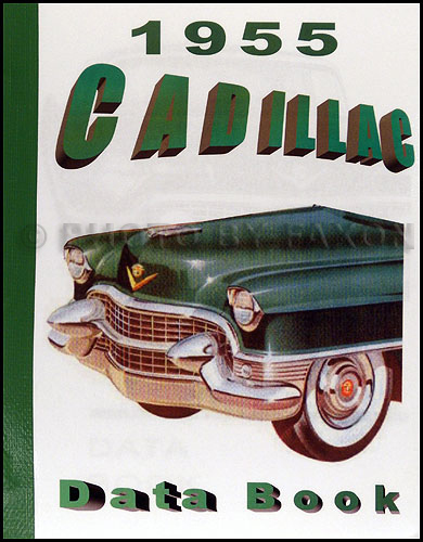 1955 cadillac data book reprint