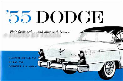 1955 Dodge Car Reprint Owner's Manual