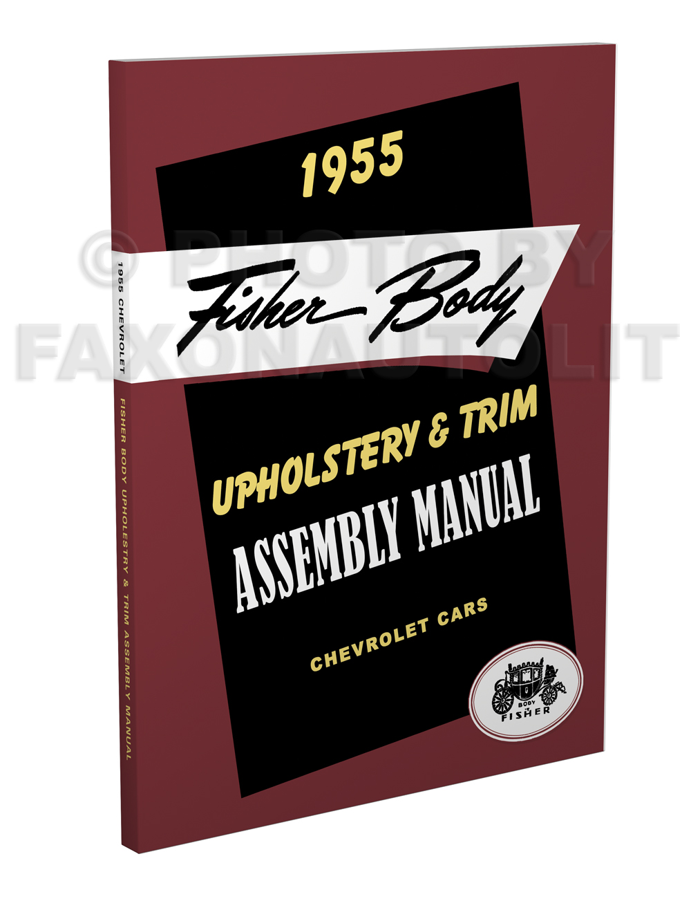 1955 Fisher Body Upholstery and Trim Assembly Manual Chevy Cars