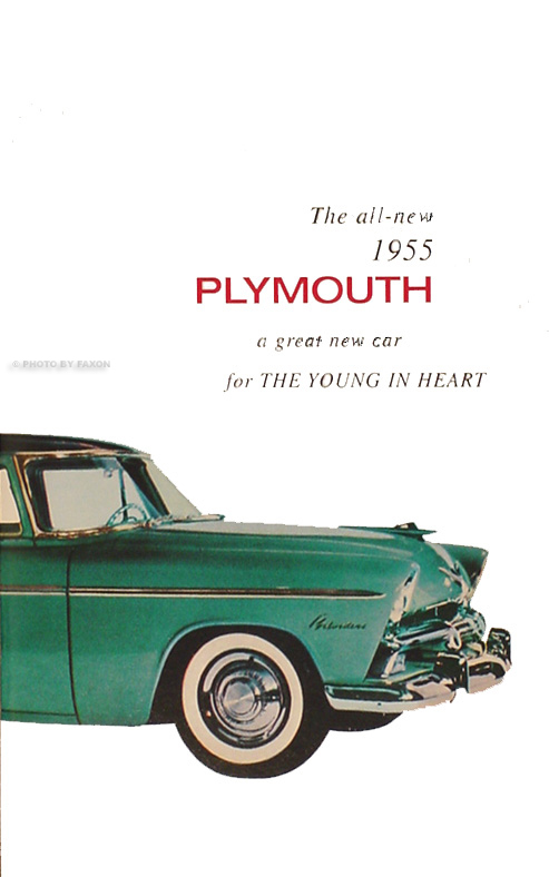1955 Plymouth Reprint Owner's Manual