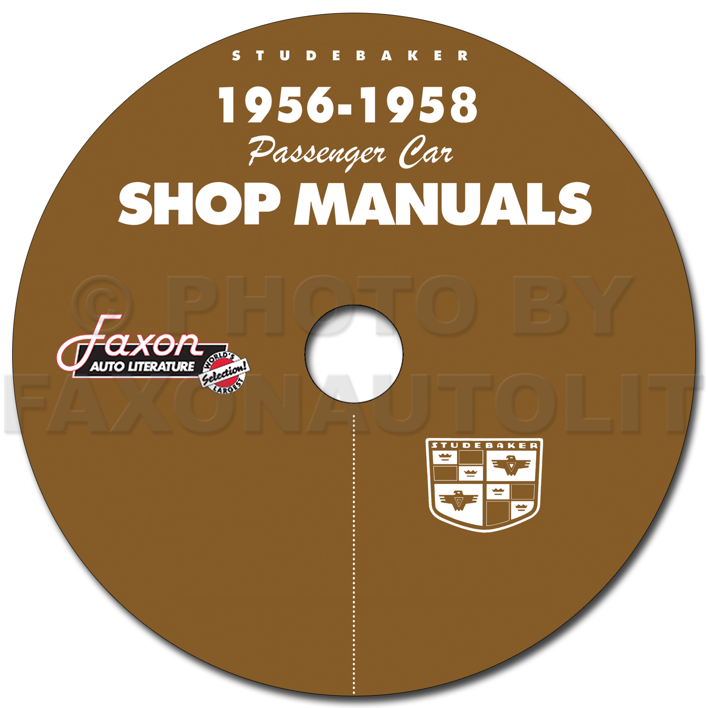 1956-1958 Studebaker Car CD-ROM Repair Shop Manual and 1958 Packard